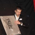 Podium act goochelaar Rich Magic